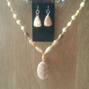 Handmade necklace set